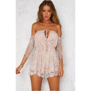 Shimmer Please Playsuit